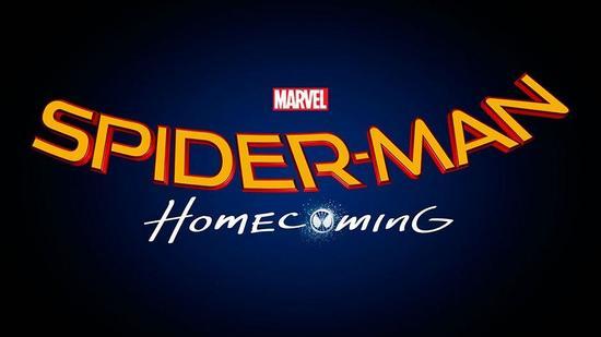 《蜘蛛侠:返校节(Spider-Man Homecoming,暂译)》片名logo
