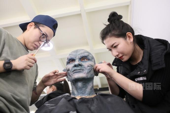 盛悦特效化妆学生毕业作品秀·盛况回顾!